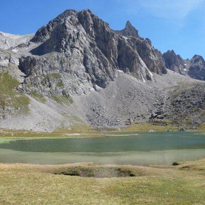 Lac des Cerces : 1h30 de marche aller