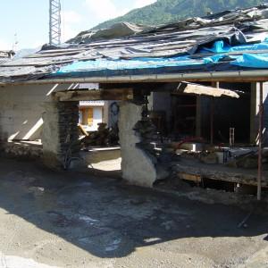 Rénovation mur Est