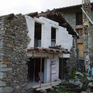 Rénovation mur sud
