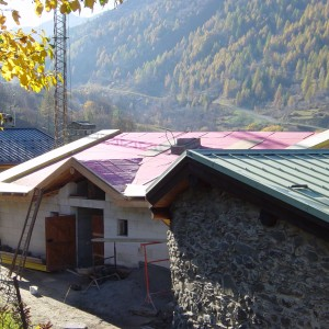 Création du toit